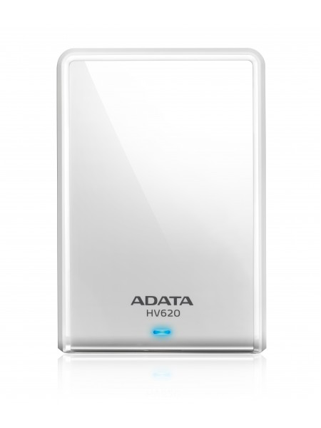 Внешний накопитель ADATA 1TB USB 3.0 HV620 белый