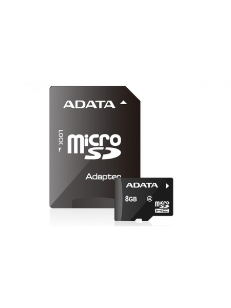 8GB Карта памяти ADATA microSDHC