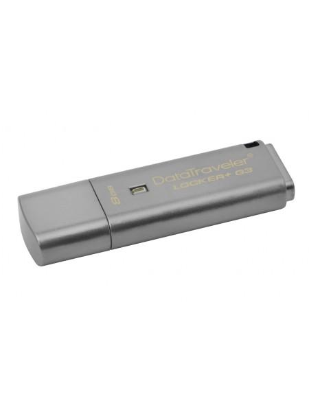 8GB USB флешка Kingston DataTraveler Locker Plus Gen.3