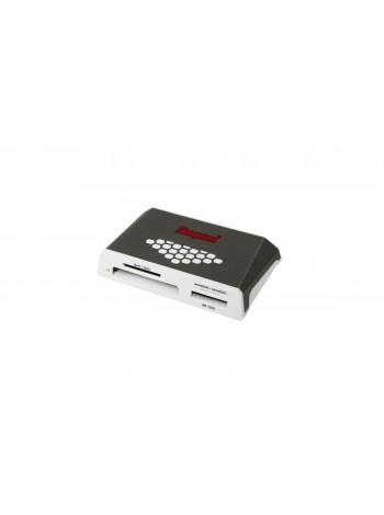 """Картридер Kingston Highspeed Media Reader """"все-в-одном"""", USB3.0, серый"""