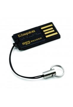 Картридер Kingston Media Reader G2 microSD, USB3.0, черный