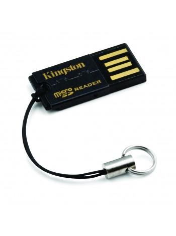 Картридер Kingston Media Reader G2 microSD, USB2.0, черный
