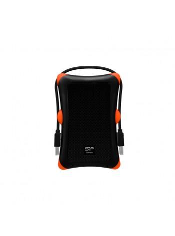 Внешний накопитель Silicon Power 1TB USB 3.0 Armor A30 rubber антишок черный