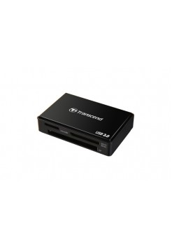 Картридер Transcend RDF8 SD/SDHC/SDXC/MicroSD/MS/MSduo/MS Micro/CF, USB3.0, черный