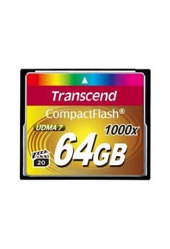 Карта памяти CF Transcend 64GB 1000x