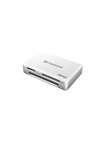 Картридер Transcend RDF8 для карт памяти SDXC/UDMA7 CF/SD UHS/MSXC USB3.0 белый