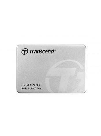 120GB SSD накопитель Transcend 2.5'' SSD220S SATA3 TLC Aluminum case