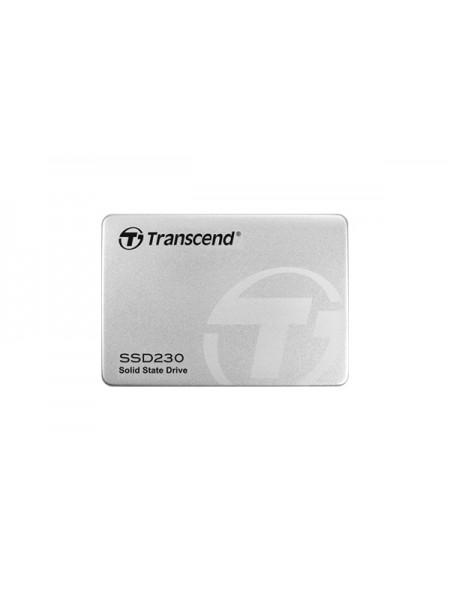 "256GB SSD накопитель Transcend 2.5"" 230S, SATA3, 3D TLC, Aluminum case"