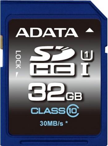 32GB Карта памяти ADATA SDHC