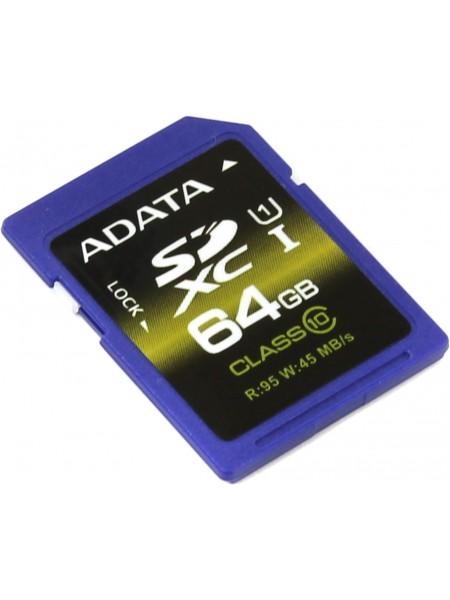 64GB Карта памяти ADATA SDXC