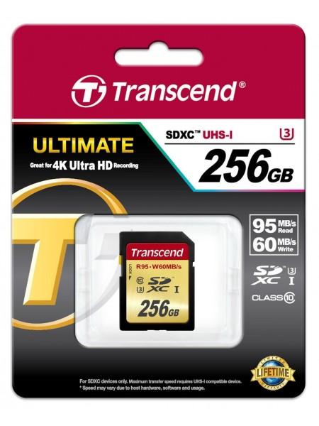 256GB Карта памяти Transcend SDXC