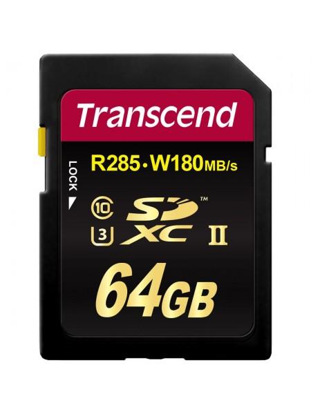 64GB Карта памяти Transcend SDHC
